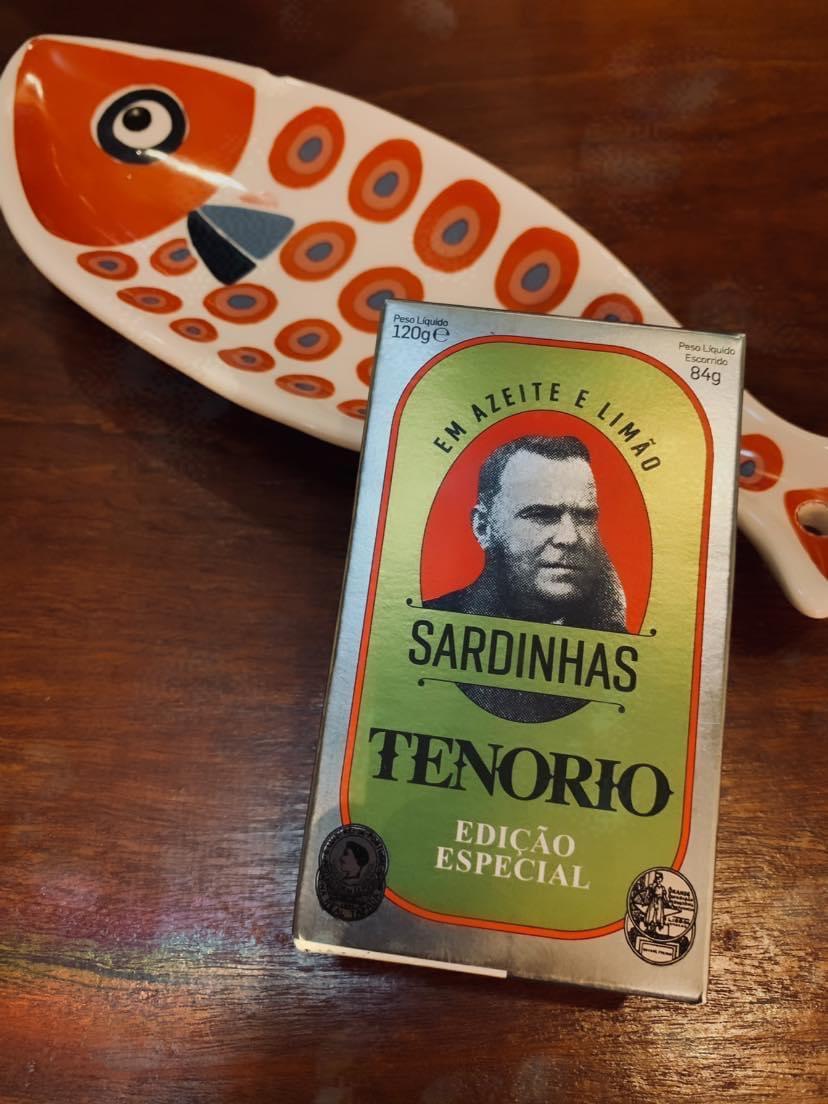Sardines TENORIO Special Edition – Lemon/Olive Oil