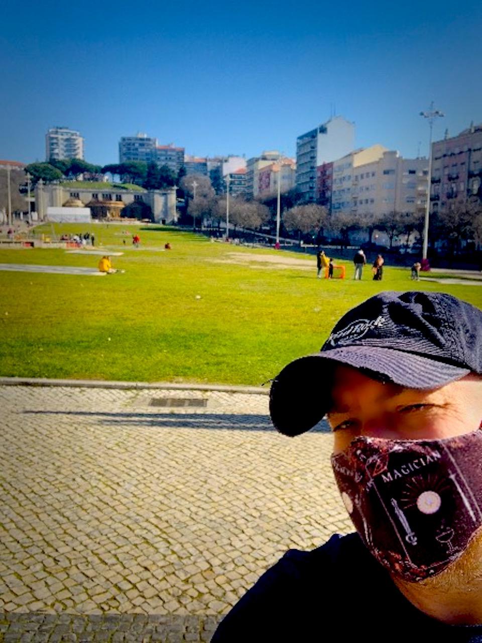 Running in Alameda Area in Lisbon (metro: Alameda)